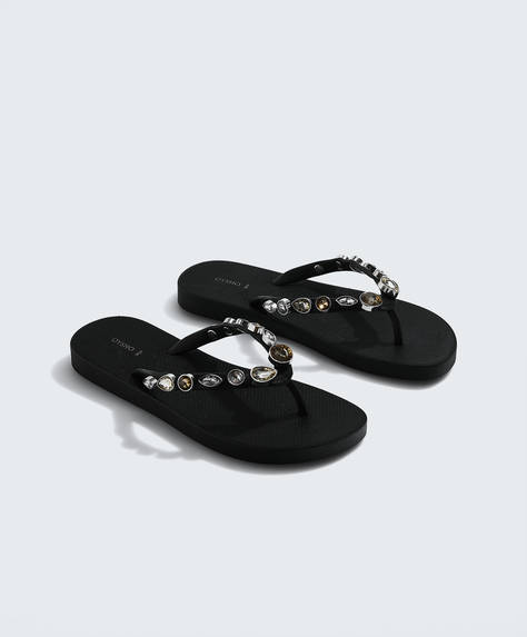 Jewel beach sandals