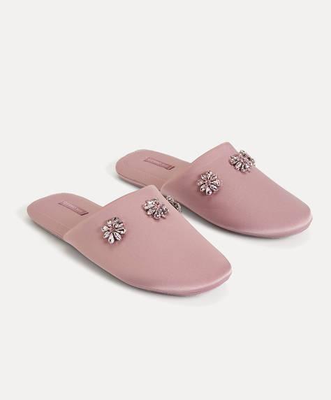 Jewel slippers