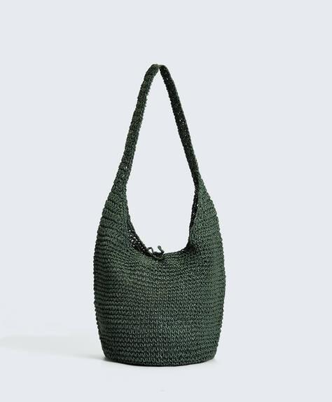 Rustic boho bag