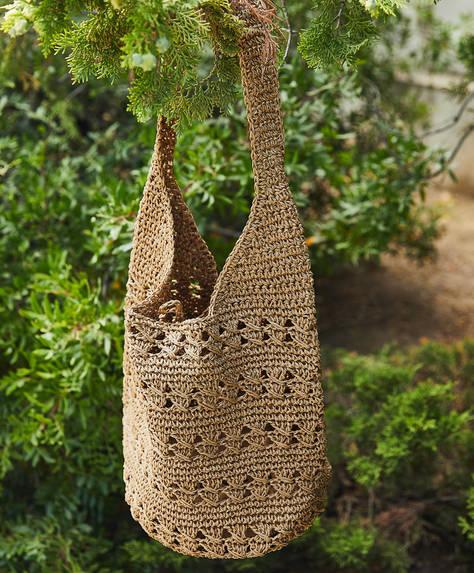 Open weave bag