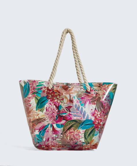 Shopper print transparente