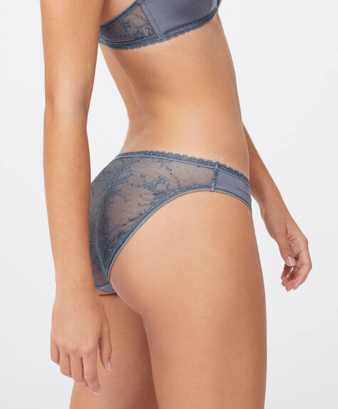 Modal and lace classic briefs