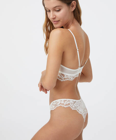 V-cut Brazilian briefs