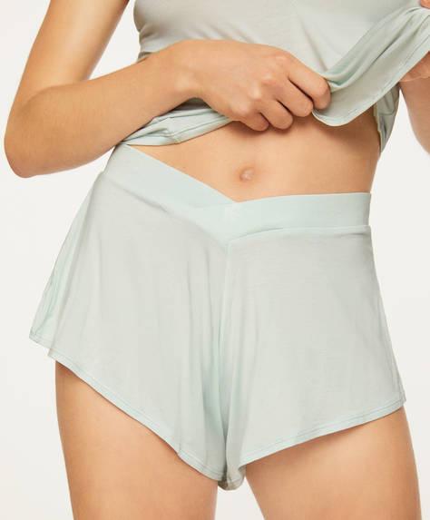 Short style lingerie à feuilles épaisses