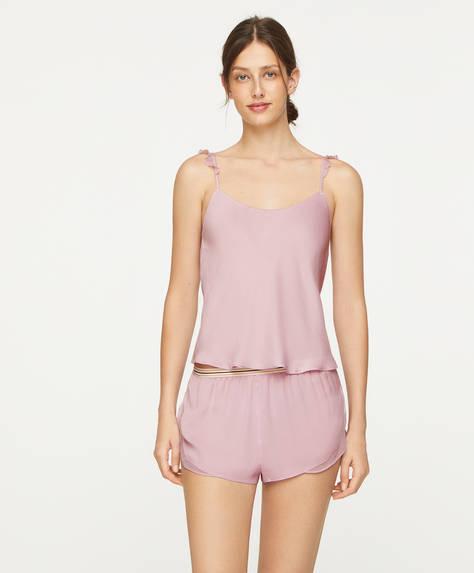 Ruffle lingerie shorts