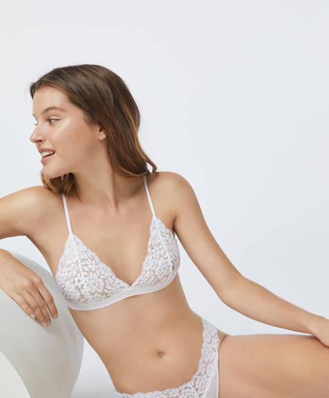 Comfort triangle bra