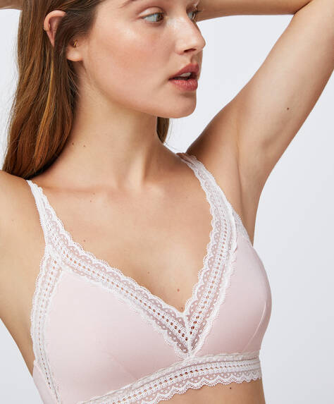 Non-wired modal bra