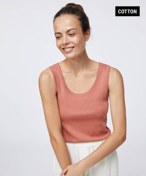 Μπλούζα basic από οργανικό βαμβάκι