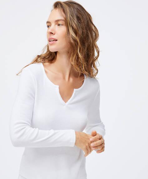 T-shirt de algodão relax wear