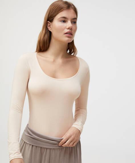 Extra-fine modal T-shirt