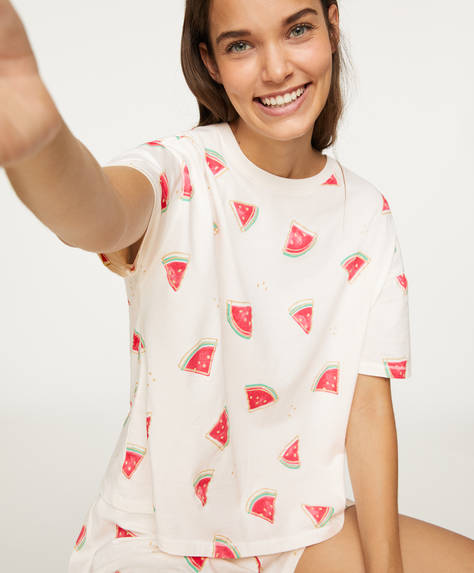 Watermelon short-sleeved T-shirt