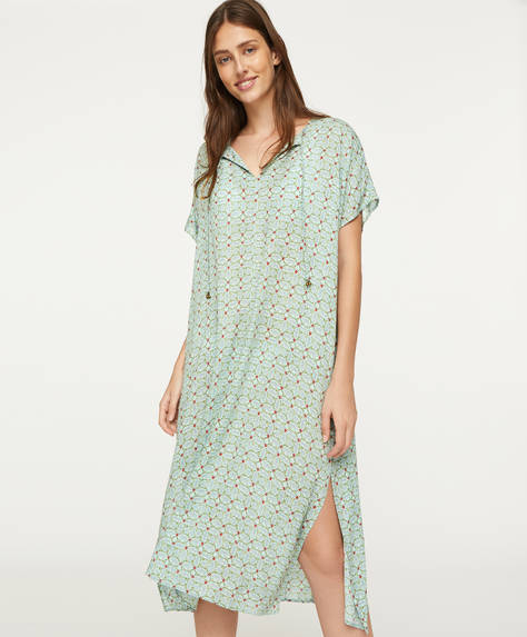 Indian short-sleeved nightdress