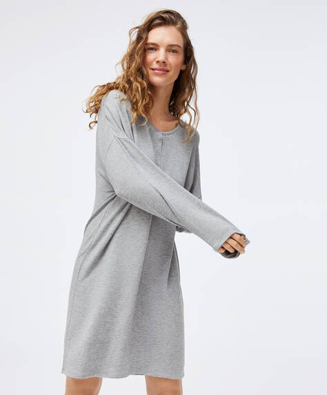 Relax wear grey nightdress