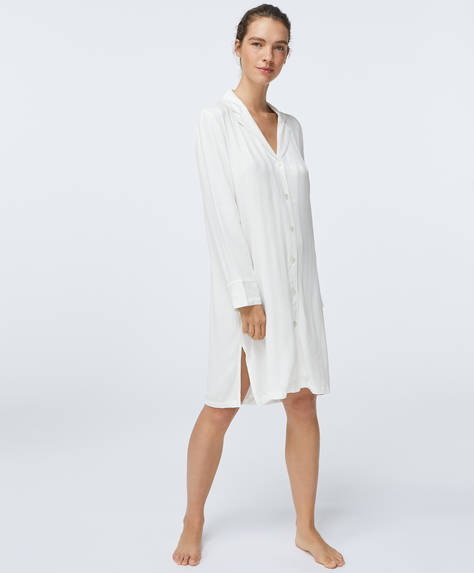 Luxury jacquard nightdress