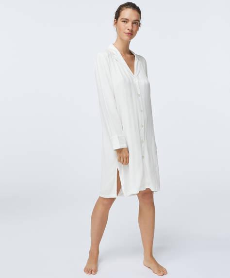 Premium-Jacquard-Nachthemd