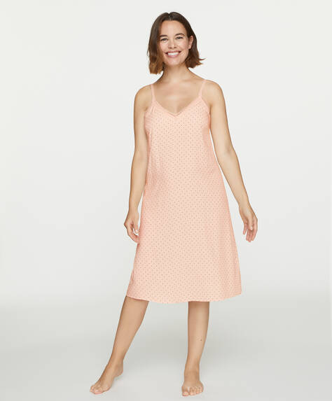 Polka dot maternity nightdress