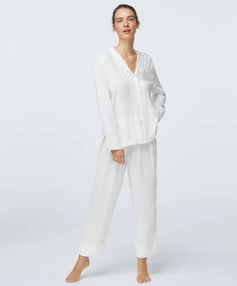 Pantaloni in jacquard premium