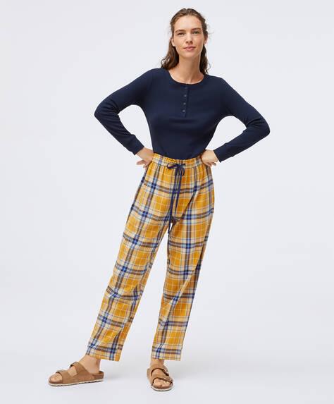 Gelbe Hose aus 100% Baumwolle