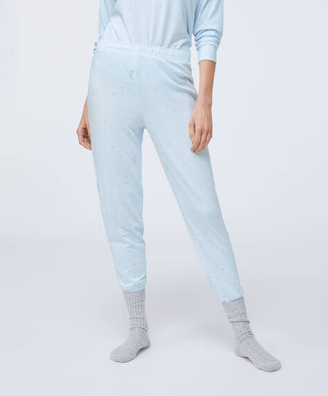 Soft feel moon trousers