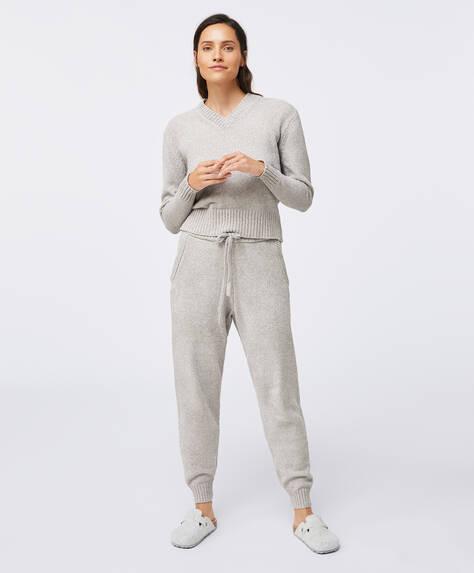 Pantalon long en chenille