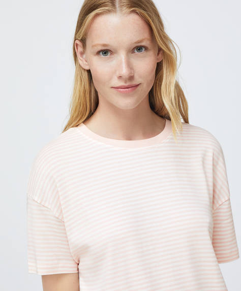 100% cotton stripe T-shirt