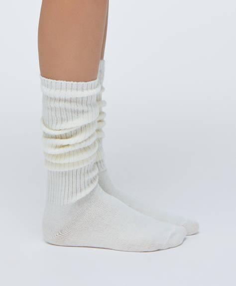 1 paio di calzini lunghi