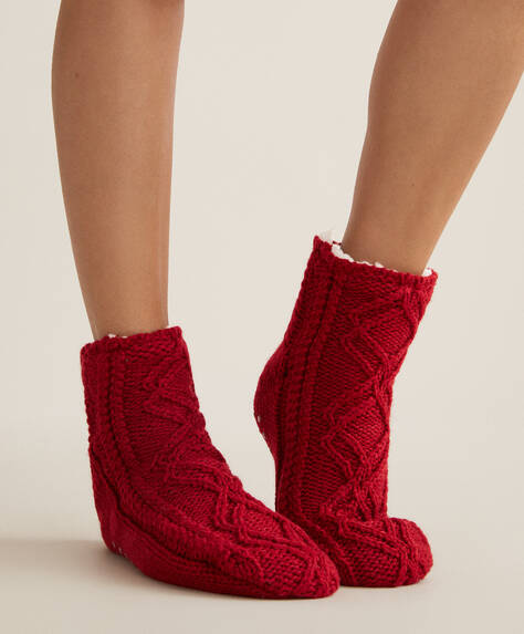 Hedgehog slipper boots