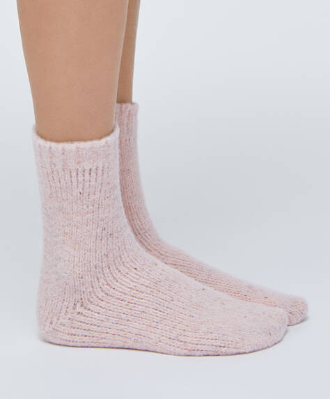 Soft crew socks