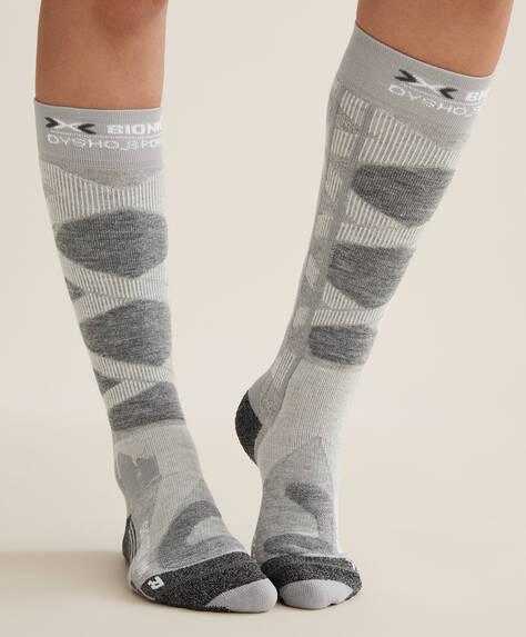 Grey X-BIONIC® SKI socks
