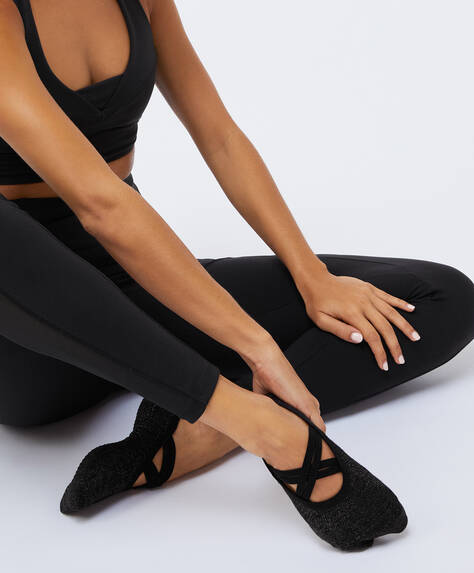 1 pair of yoga Pilates sports socks