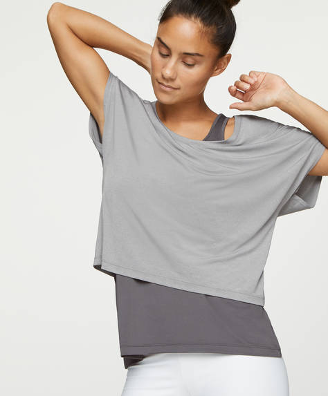 Double-layer T-shirt