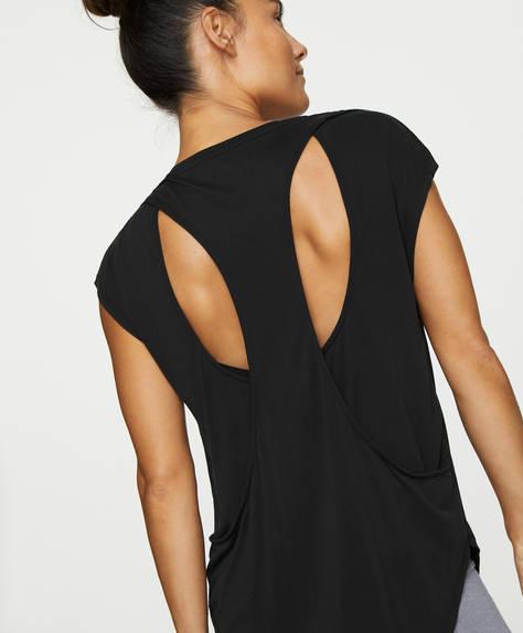 Shirt mit Cut-out-Details am Rücken