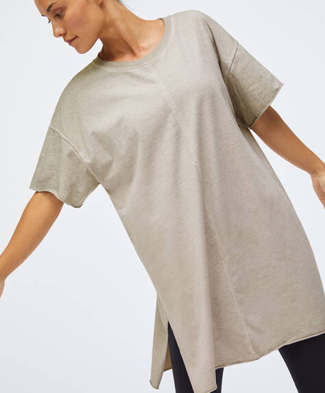 Oversize cotton T-shirt