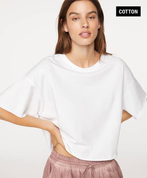Basic T-shirt van biologisch katoen