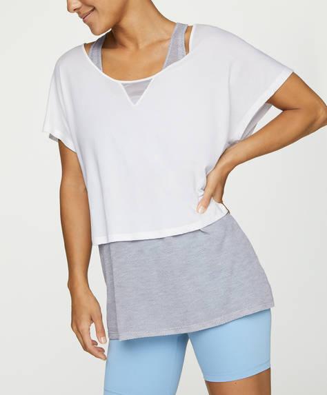 Camiseta doble poliamida reciclada