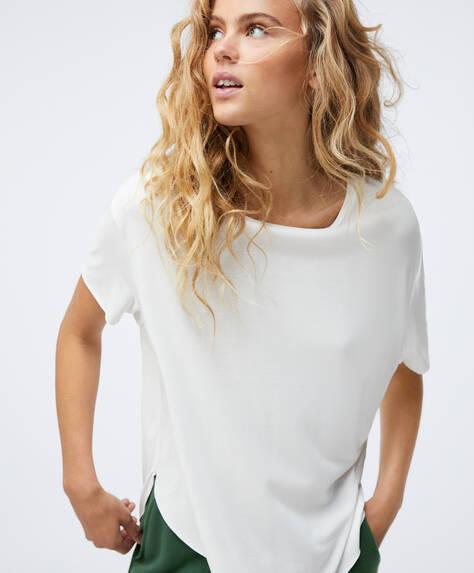Ärmelloses Shirt aus Modal