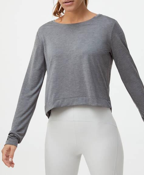 Crop modal T-shirt