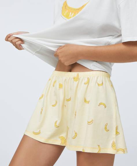 Pantalón corto plátanos