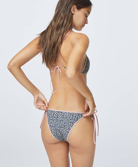 Braquita bikini brasileña florecita