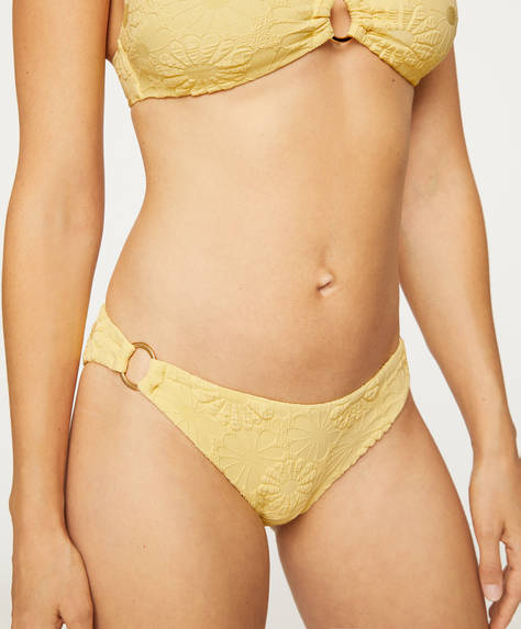 Classic floral print bikini bottoms