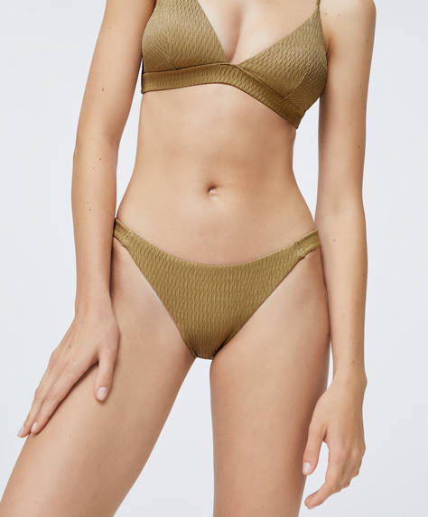 Strappy Brazilian bikini briefs
