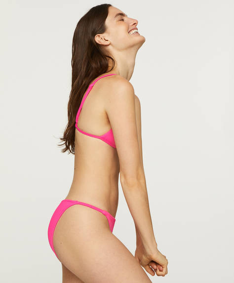Fluorescent strappy classic briefs