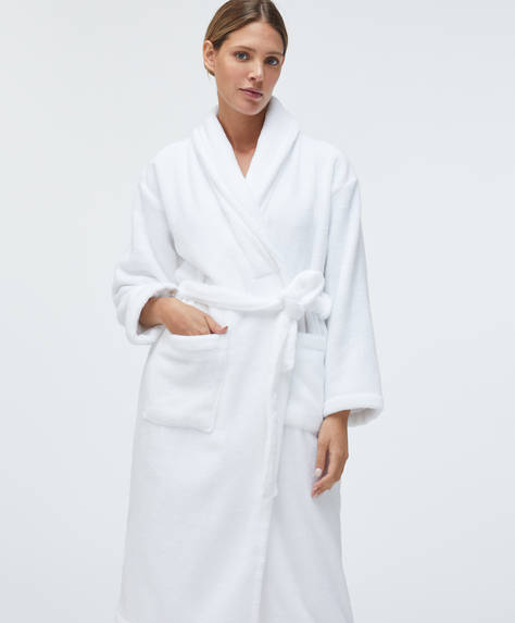 Cotton bath robe