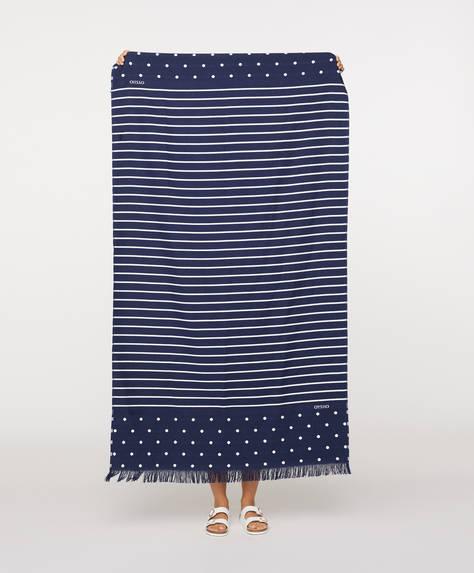 Handtuch im maritimen Design