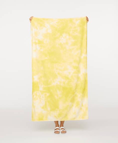 Tie-dye towel