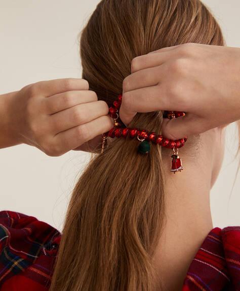 Christmas spiral hairband