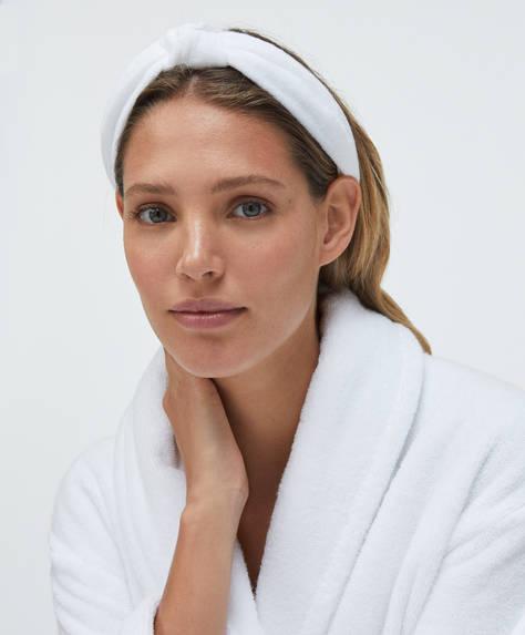 Towel headband