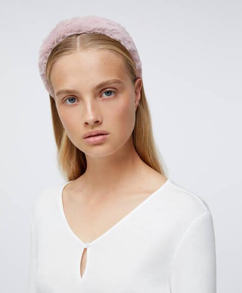Soft touch headband