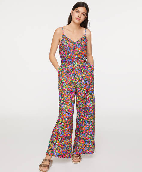 Strappy sixties jumpsuit