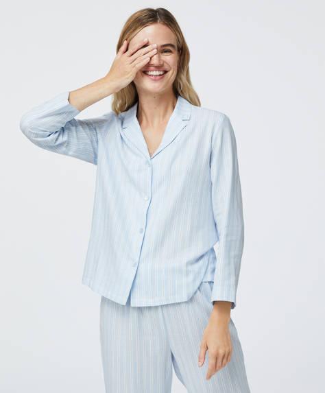 Camisa 100% algodón rayas